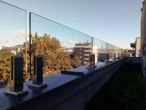 Spigot üvegkorlát